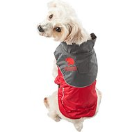 Touchdog Subzero Storm Reflective Dog Coat, X-Small, Red