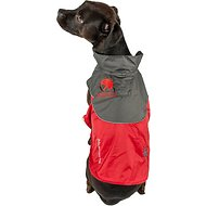 Touchdog Subzero Storm Reflective Dog Coat, Red, Medium