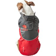 Touchdog Subzero Storm Reflective Dog Coat, Red, Large