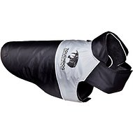 Touchdog Lightening 2-in-1 Convertible Dog Jacket, Black, X-Small