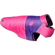 Touchdog Lightening 2-in-1 Convertible Dog Jacket, Pink, Small