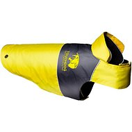 Touchdog Lightening 2-in-1 Convertible Dog Jacket, Yellow, X-Large