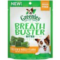 Greenies Breath Buster Bites Chicken & Parsley Flavor Grain-Free Dental Dog Treats