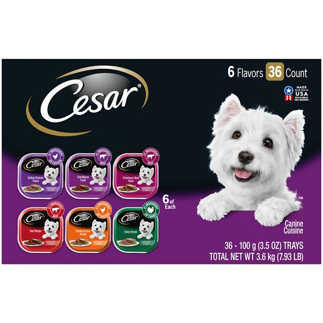 Are Cesar Classics Dog Food Reviews