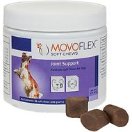 Virbac MOVOFLEX Joint Support Soft Chew Dog Supplement, 40-80 lbs, 60 count