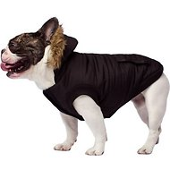 Canada Pooch North Pole Premium Dog Parka, Black, 18