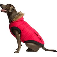 Canada Pooch North Pole Dog Parka, Red, 26
