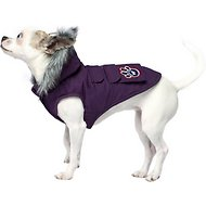 Canada Pooch Everest Explorer Premium Dog Jacket, Eggplant, 14