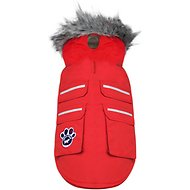Canada Pooch Everest Explorer Dog Jacket, 14, Red Reflective