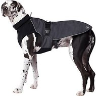 Canada Pooch Expedition Dog Coat, Charcoal, 10