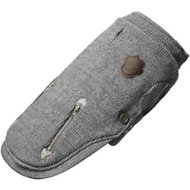 Canada Pooch Northern Knit Dog Sweater, Salt & Pepper, 10