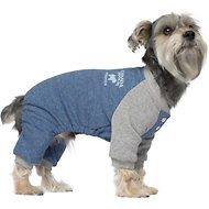 Canada Pooch Frosty Fleece Dog Sweatsuit, Blue, 10