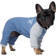 Canada Pooch Frosty Fleece Dog Sweatsuit, 16, Blue