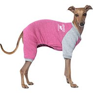 Canada Pooch Frosty Fleece Dog Sweatsuit, 16, Raspberry