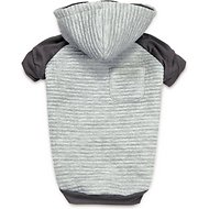 Zack & Zoey Elements Textured Stretch Dog & Cat Hoodie, X-Small