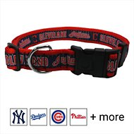 Pets First MLB Dog Collar, Cleveland Indians, X-Large