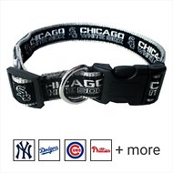 Pets First MLB Dog Collar, Chicago White Sox, Medium