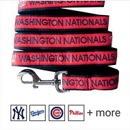 Pets First MLB Dog Leash, Washington Nationals, Medium