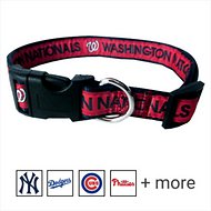 Pets First MLB Dog Collar, Washington Nationals, Medium