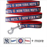 Pets First MLB Dog Leash, New York Mets, Small
