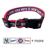 Pets First MLB Dog Collar, New York Mets, Small