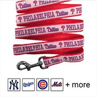 Pets First MLB Dog Leash, Philadelphia Phillies, Medium