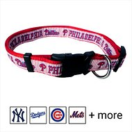 Pets First MLB Dog Collar, Philadelphia Phillies, Large