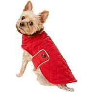 Zack & Zoey Elements Derby Quilted Dog Coat, Small