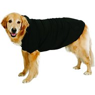 Zack & Zoey Fleece-Lined Dog & Cat Hoodie, Black, Large