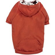 Zack & Zoey Forest Friends Reversible Dog Hoodie, Orange, Small/Medium
