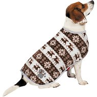 Zack & Zoey Forest Friends Reversible Nor'Easter Dog Coat, X-Large