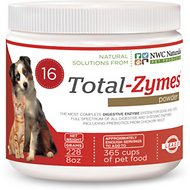 NWC Naturals Total-Zymes Digestive Enzymes Dog & Cat Powder Supplement, 8-oz jar