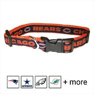 Pets First NFL Dog Collar, Chicago Bears, Large