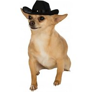 Rubie's Costume Company Black Cowboy Hat Dog Costume, Small/Medium