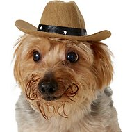 Rubie's Costume Company Brown Cowboy Hat Dog & Cat Costume, Small/Medium