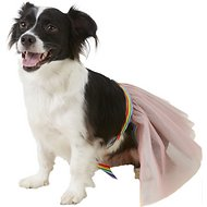 Rubie's Costume Company Rainbow Tutu Dog Costume, Medium/Large