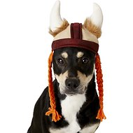 Rubie's Costume Company Viking Hat With Braids Dog & Cat Costume, Medium/Large