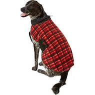 Ultra Paws Red Plaid Cozy Dog Coat, X-Large