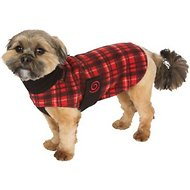 Ultra Paws Red Plaid Cozy Dog Coat, XX-Large