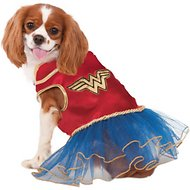 Rubie's Costume Company Wonder Woman Tutu Dress Dog Costume, X-Small