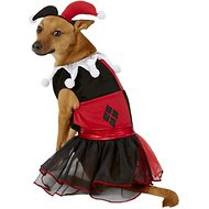 Rubie's Costume Company Harley Quinn Dog & Cat Costume, Medium