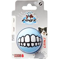 Rogz Pupz Grinz Treat Ball Dog Toy, Small, Color Varies