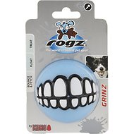 Rogz Pupz Grinz Treat Ball Dog Toy, Medium, Color Varies