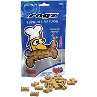 Rogz Chicken Dog Treats, 5-oz bag