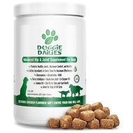 Doggie Dailies Advanced Hip & Joint Dog Supplement, 1-lb jar