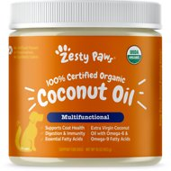 Zesty Paws Organic Extra Virgin Coconut Oil for Dogs