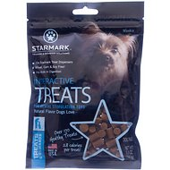 Starmark Interactive Dog Treats, 5.5-oz bag