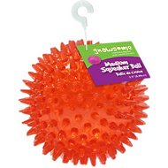 Gnawsome Squeaker Ball Dog Toy, Color Varies, Medium