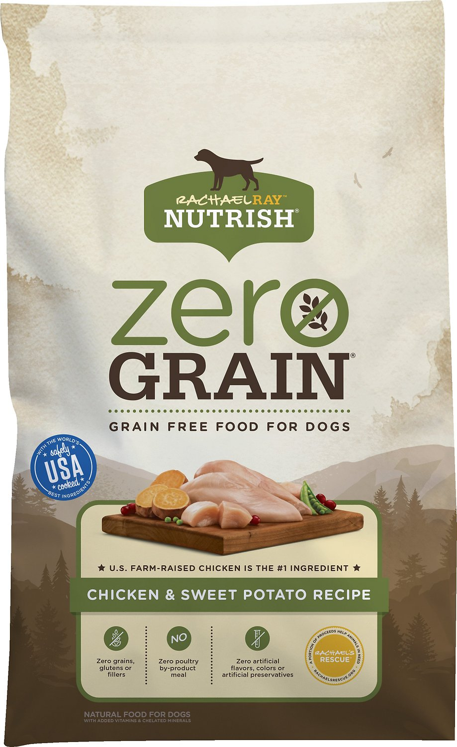 Rachael Ray Nutrish Zero Grain Natural Chicken Amp Sweet