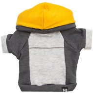 penn + pooch The Emerson Dog Hoodie, Gold, X-Small